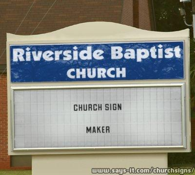 make your sign make your very own church sign kinda like the ones