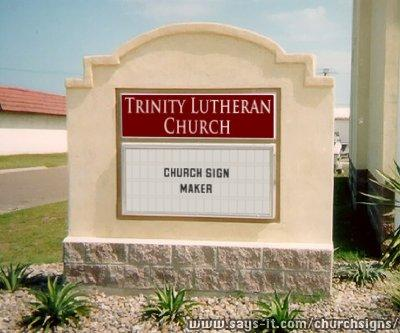 make your sign note these church signs aren t real they don t exist in